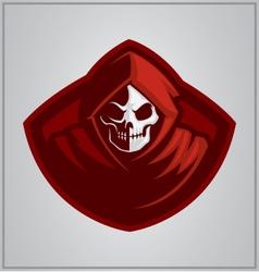 Reaper mascot vector