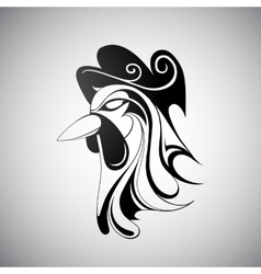 Rooster symbol of Chinese zodiac vector image vector image