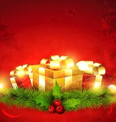 Seasonal gift vector