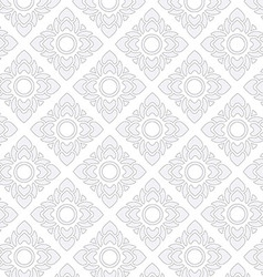Thai texture vector image vector image