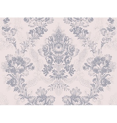 Victorian floral pattern abstract flower rose vector