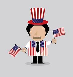 American Man vector image