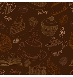 Bakery seamless 2 vector