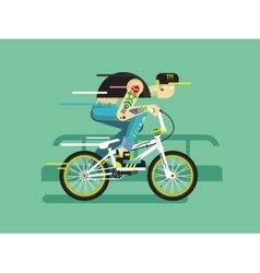 Active bicyclist vector