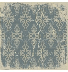 Old paper pattern vintage background vector