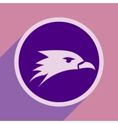 Eagle head logo vector