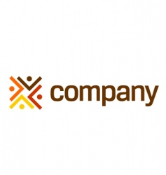 Logo for legal company vector