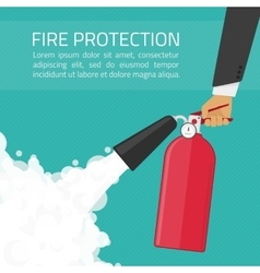 Fire protection vector