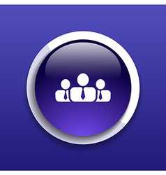 People icon business communication relationships g vector