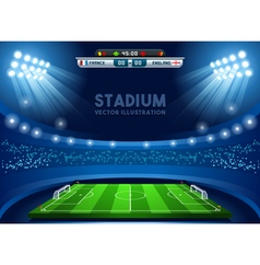 Football 02 Sport Background vector image