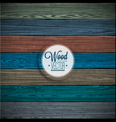 Color painted wood texture background vector