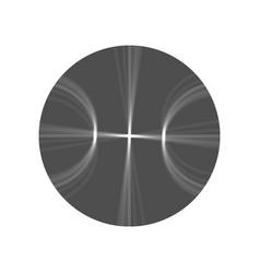 Basketball ball sign gray vector