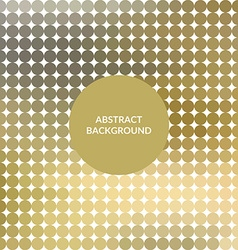 Gold Abstract mosaic background vector image vector image