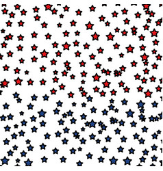 Stars pattern background icon vector
