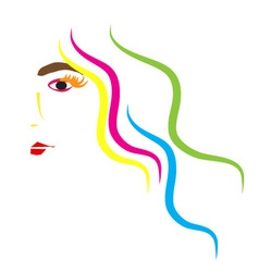 Women beauty vector