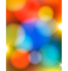 Colorful holiday abstract background vector image