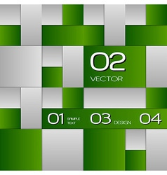 Green layout vector