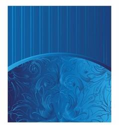 Blue vintage background vector