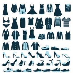 fashion clothing 2 38 vector image vector image