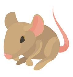 Rat icon cartoon style vector