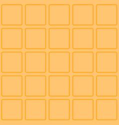 Waffle seamless texture vector