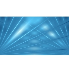 Blue abstract beams background vector