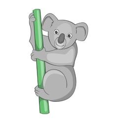 Australian koala bear icon cartoon style vector image