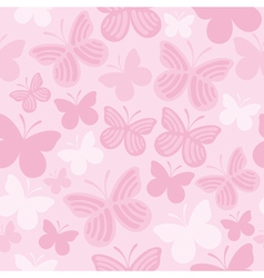 Butterfly pattern1 vector image