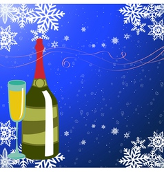 new year party background vector image vector image