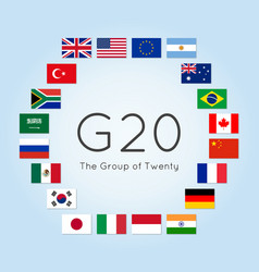 The group of twenty vector