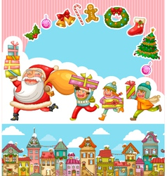 Gifts kids small vector