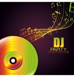 Music equipment and technology vector image
