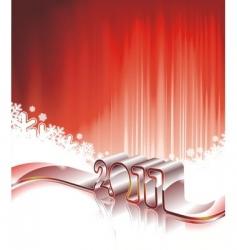 happy new year 2011 design vector image vector image