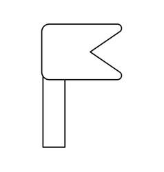 Line notice emblem symbol icon vector