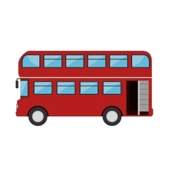 london city bus vector image vector image