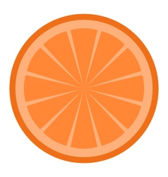 orange icon vector image vector image