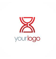 time sand logo vector image
