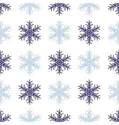 Snowflakes background in light gray colors vector