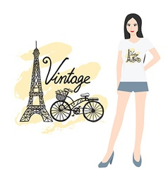 Hand drawn t shirt design vector