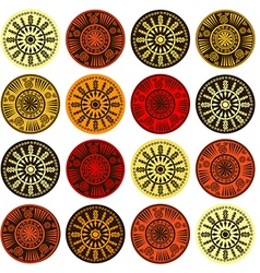Ethnic motifs pattern vector