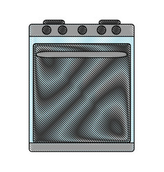 Oven icon image vector
