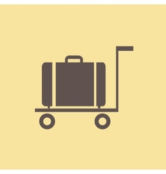 Travel flat icon vector