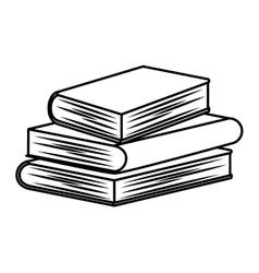 Book icon reading design graphic vector