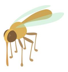 mosquito icon cartoon style vector image