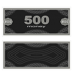 Play money five hundred vector
