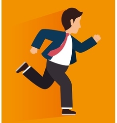 young people male cartoon design vector image