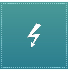 Bolt flat icon vector