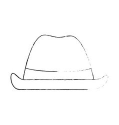 cowboy hat isolated icon vector image vector image