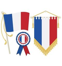France flags vector