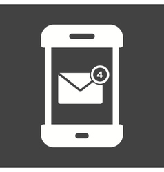 Message mobile app icon image Can also vector image